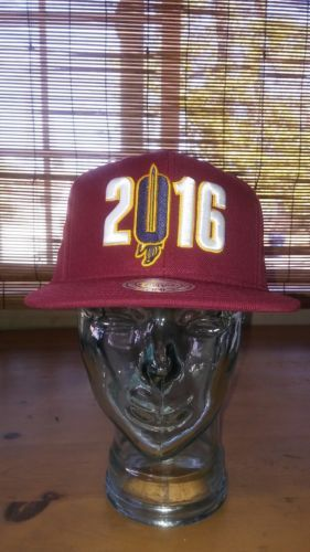 Mitchell & Ness Team Primary Color NBA Cleveland Cavaliers Cavs 2016 Snapback