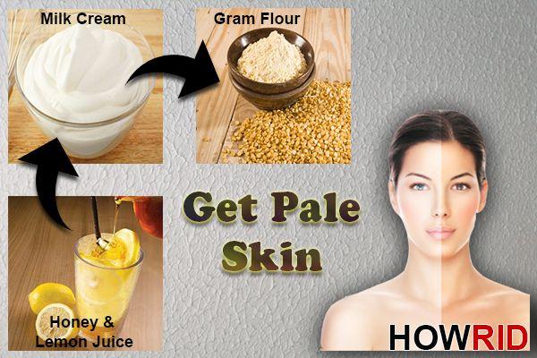 Get Paler Skin Fast Naturally