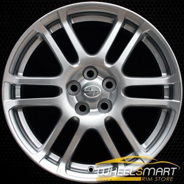 17 Scion Tc Oem Wheel 2005 2010 Hypersilver Alloy Stock Rim 69471 Oem Wheels Scion Tc Wheels For Sale