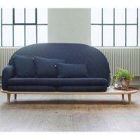 Rise sofa med sidebord fra Fogia