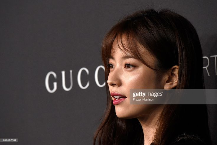 Actress Hyo Joo Han attends the 2016 LACMA Art + Film Gala honoring Robert Irwin and Kathryn Bigelow presented by Gucci at LACMA on October 29, 2016 in Los Angeles, California.