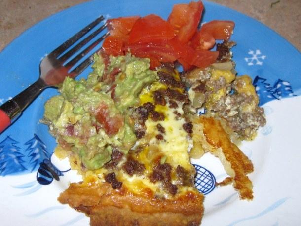 here is a fun dish. . . Ole!!