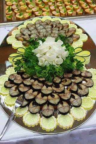 УКРАШЕНИЕ БЛЮД-15. Рыбная тарелка - пошаговые фото, рецепты