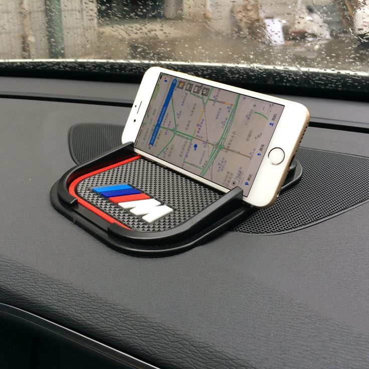 Auto rubber phone mat GPS support holder Car Accessories For BMW E36 E39 E46 E60 E90 E30 E34 F10 F15 F30 X1 X3 X5 X6 M M3 M5 M6