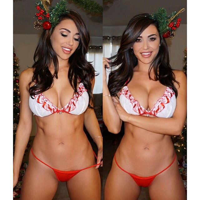 Valuable Hot girls in christmas outfits getting nailed version