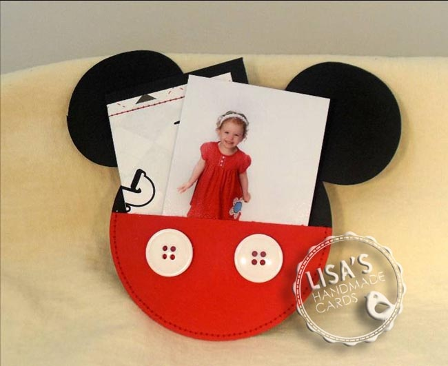 Mickey invitation with picture