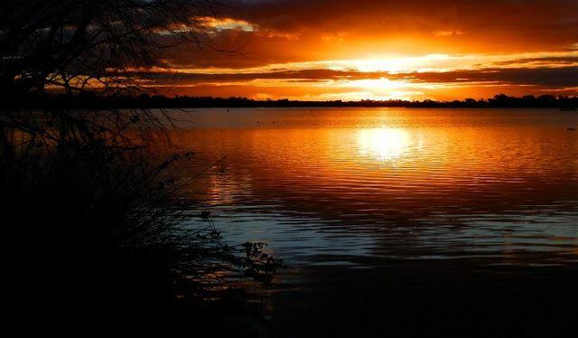 #Sunset over Lake Cullulleraine ... A little town just west of #Mildura, #Victoria!