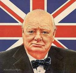 """Winston Churchill once said, """"History will be kind to me for I intend writing it.'"""