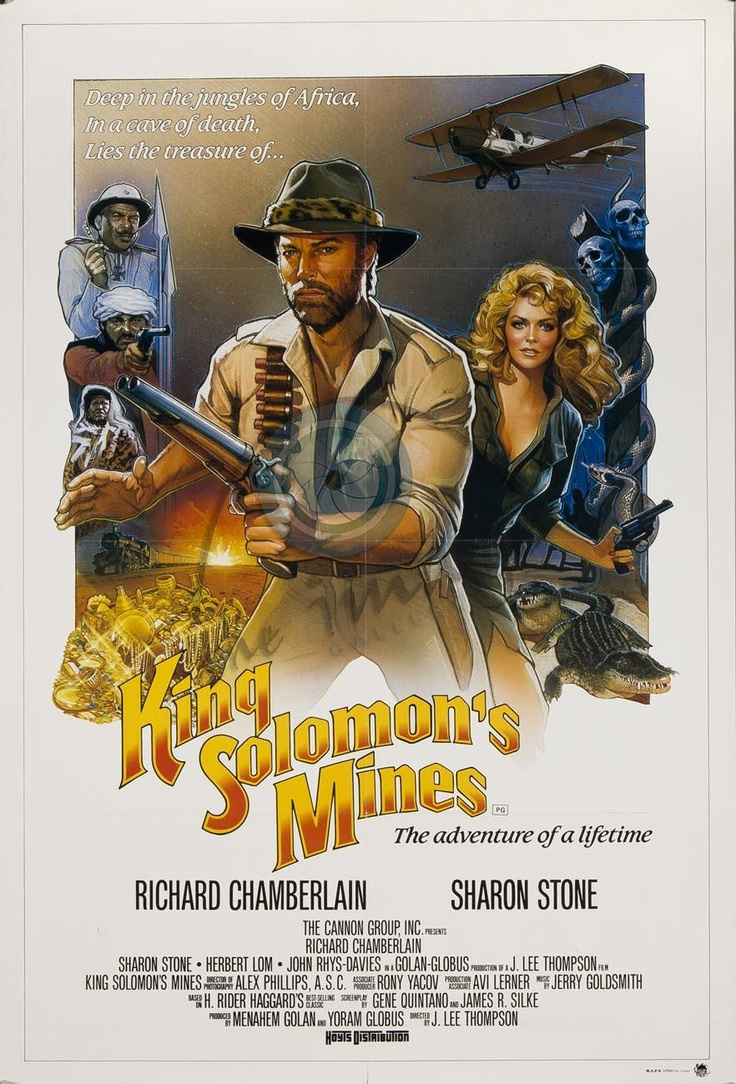 king solomons mines by drew best movie posters ever