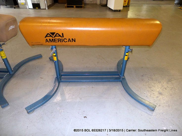 AAI AMERICAN POMMEL HORSE WITH BASE VAULT MOUNT GYMNASTICS STRENGTH TRAINING #AAIAMERICAN
