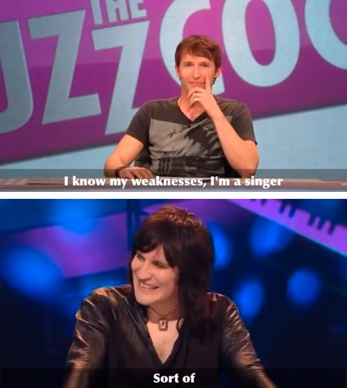 Oh Noel....don't diss James Blunt!