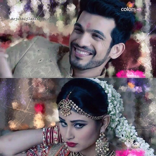 Caption? No need! Eyes are enough.! #rivanyamoments #throw @arjunbijlani @imouniroy ps : cos I'm posting RiVanya edit after quite a long time