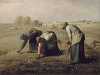 Jean-François Millet, The Gleaners, 1857