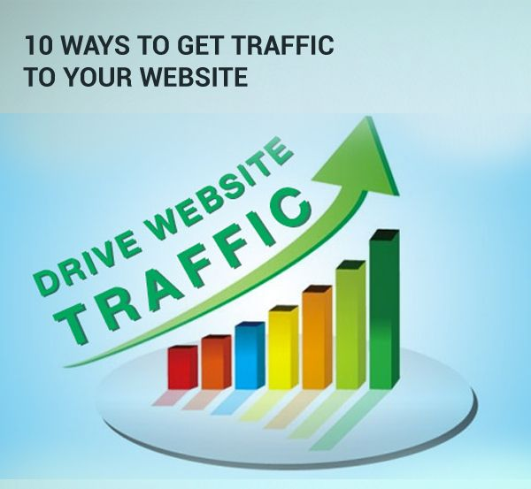 10 Ways to get traffic to your website