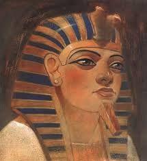 3 - Hatshepsut Se ignora el momento exacto del nacimiento de Hatshepsut, aunque es de suponer que sucediese en la por entonces capital del estado, Tebas, a finales del reinado de Amenhotep I. Ante la falta de descendencia del faraón, el sucesor designado era el padre de Hatshepsut, el futuro Tutmosis I (Tutmose I), quien para poder legitimar su inminente acceso al trono se había tenido que casar con la princesa Ahmose.