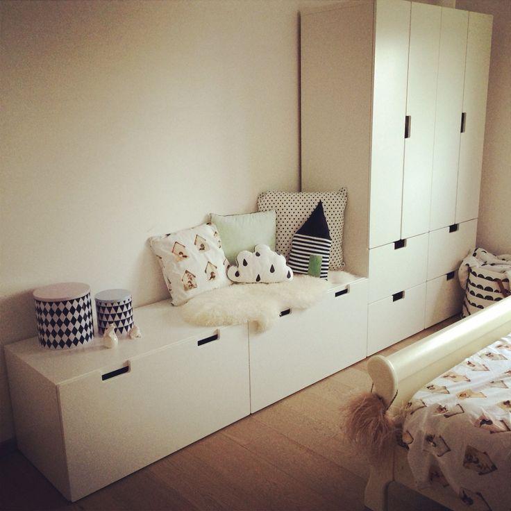 Hannelore s room ikea stuva white fermliving - Childrens bedroom furniture ikea ...