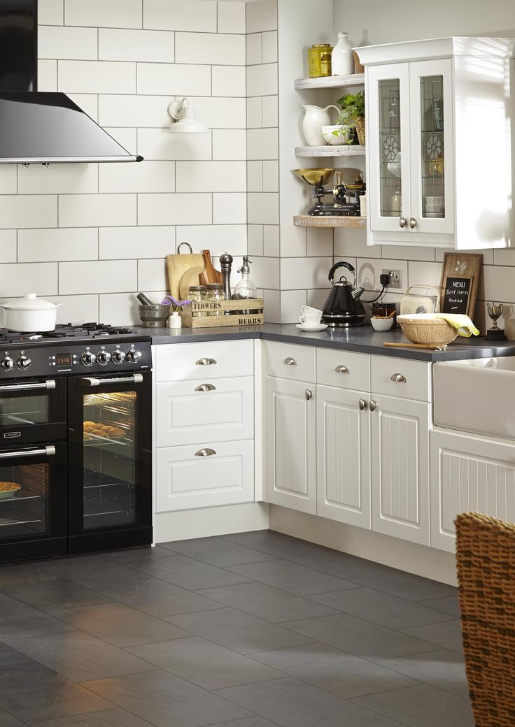 20 best Country Kitchens images on Pinterest | Cottage kitchens ...