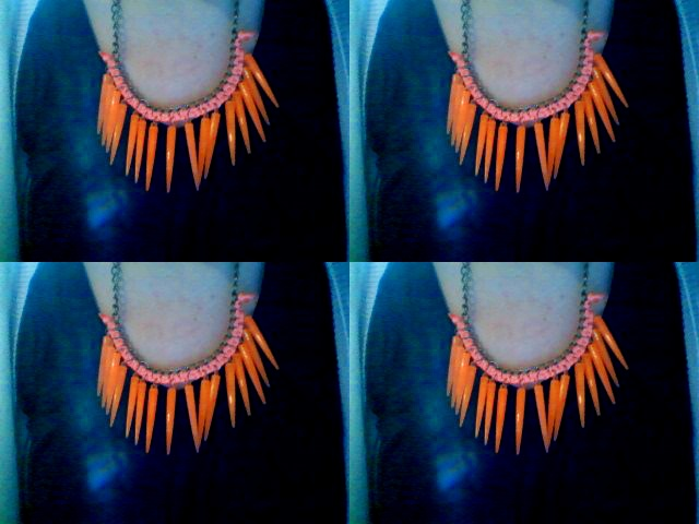 Collar Tangerine  #summer #necklace #collars #fashion #accessories #jewelry #mode #look #fashioaccessories #luxjewelry