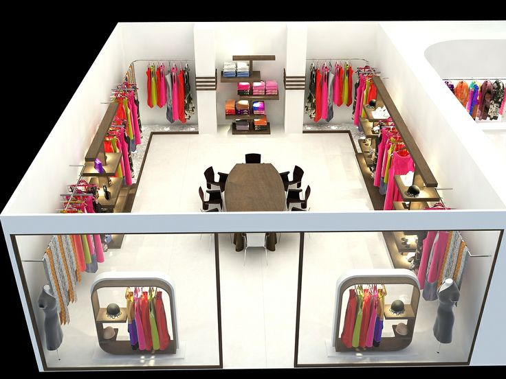 Cut Model of Retail Interior Design | Interior Design ideas  Click this link to view more details - http://Interiors.ApnaGhar.co.in/  Questions? Call Toll-Free No.- 1800-102-9440