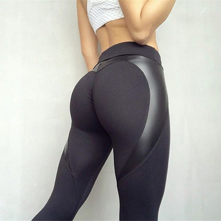 3e24a9c4990 Details about Hot Sexy Heart Shaped Leggings Women Fitness Yoga ...