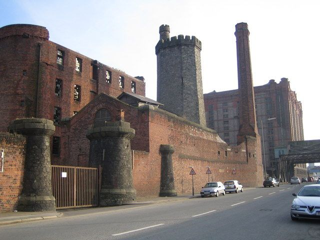 Liverpool, Stanley Dock Warehouse - geograph.org.uk - 343712 - Grade II listed buildings in Liverpool-L5 - Wikipedia, the free encyclopedia