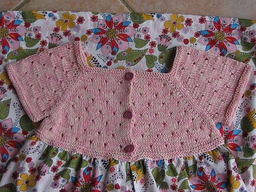 Ravelry: robe d'été en tricot et liberty pattern by Sandrine Bianco: love the knit top with a fabric skirt