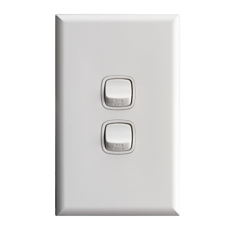 HPM EXCEL 2 Gang Wall Switch