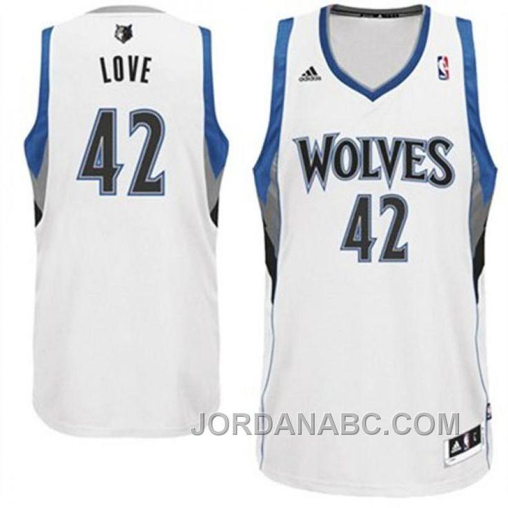 1ab65cf12 ... Buy Kevin Love Minnesota Timberwolves Revolution 30 Swingman White  Jersey Online from Reliable Kevin Love Minnesota ...