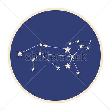 Costellazione Del Segno Zodiacale Leone