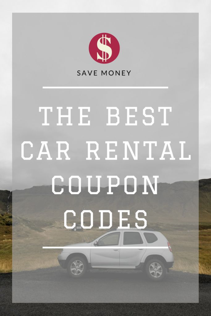 A complete list of current car rental coupon codes for the big companies around the world to help you save a lot of money on your next trip. These are codes that do much more than a free upgrade. There's potential to save hundreds of dollars through these codes. #carrental #travelhacking #couponcodes #national #thrifty #enterprise #budget #hertz #alamo #avis #europcar #dollarcarrental #sixt #discountcodes #traveldeals #travelhacks