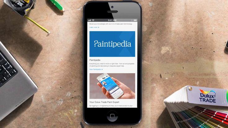 Dulux Trade Paint Expert Platform