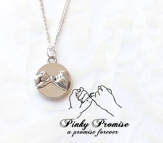 Pinky Promise Necklace - For Mom and me!