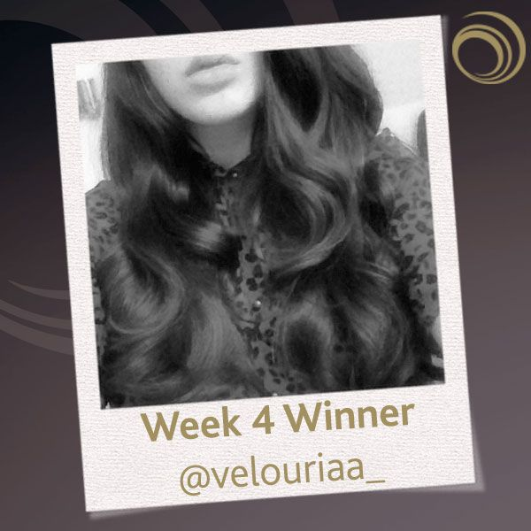 Week 4 winner of our Instagram competition - Have you discovered the Curl Revolution @velouriaa_