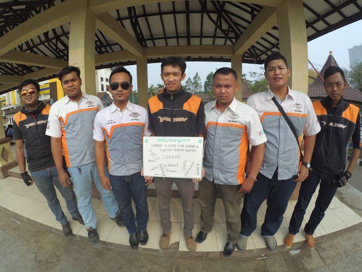"PanTulKotaserang Versi Komunitas Yamaha Vixion Club Indonesia (YVCI) Chapter Serang Banten  #PanTulKotaSerang  Papan Tulisnya Warga Kota Serang. Wadah apresiasi suara dari dulur sedanten tentang Kota Serang PanTulkotaserang Versi Komunitas Yamaha Vixion Club Indonesia (YVCI) Chapter Serang Banten. Kata positif untuk Kota Serang menurut Komunitas Yamaha Vixion Club Indonesia (YVCI) Chapter Serang Banten""Safety"" ""Bersih"" ""Smile"" ""Berkah"" ""Go Green"" ""Ramah"" ""Peduli"" ""Bertaqwa"" ""Inovatif""…"