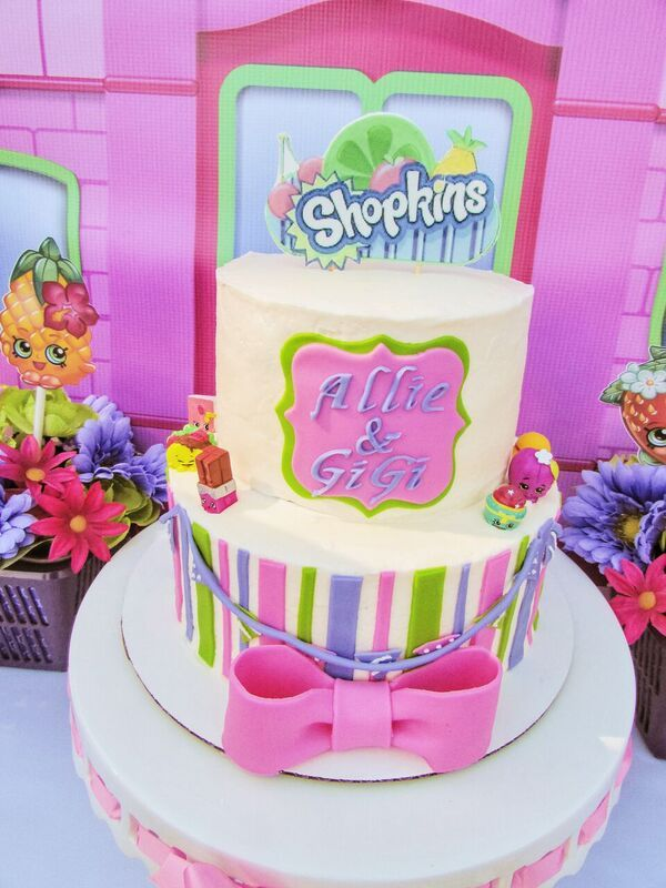 33 best Shopkins Birthday Party images on Pinterest | Anniversary ...