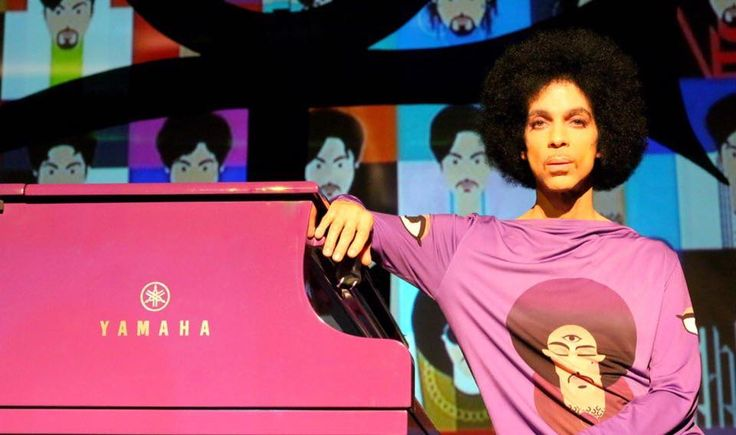 One of the last pictures taken of Prince. He was my favorite rock star and I had the pleasure of seeing this creative genius in concert. This picture was taken last week at the last concert he did in Atlanta.