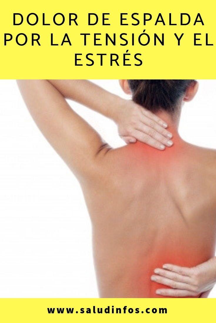 Dolor de espalda por la tensión y el estrés #espalda #..