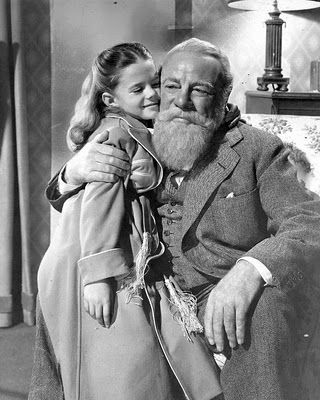 Miracle on 34th St. - Natalie Wood & Edmund Gwenn 1947. A must watch every Christmas.