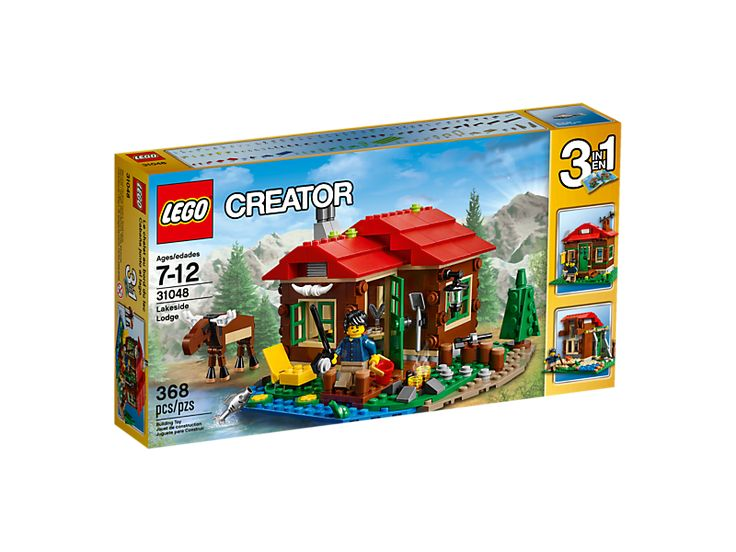 Buy LEGO CREATOR Lakeside Lodge for R529.00