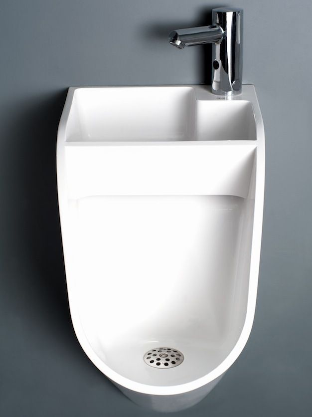 The 'Sink-Urinal' Saves Water, Encourages Hand Washing
