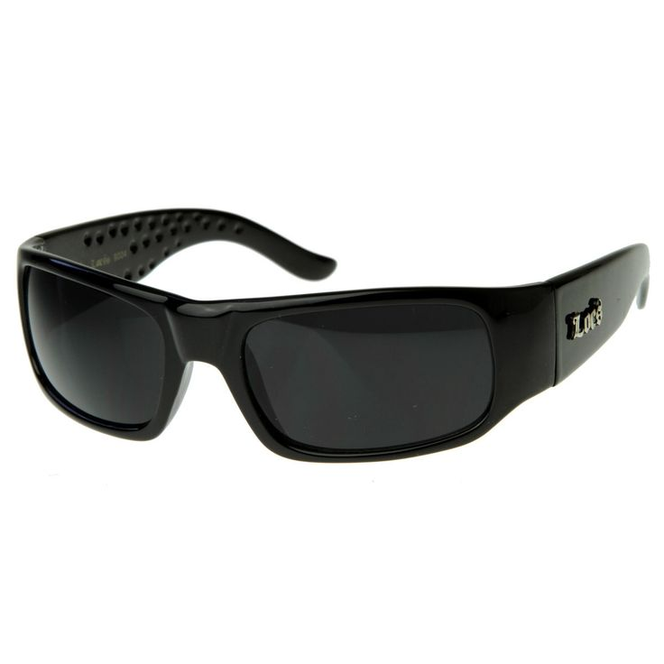 Hard Core Shades Classic Gangsta Locs Sunglasses  #sunglasses #sunglass #frame #womens #sunglassla #mirrored #cateye #oversized #clear #purple