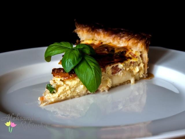 Salmon tart/ tarta łososiowa