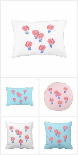 Air Balloon Pillows