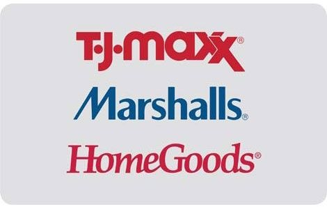 $25 TJ Maxx Marshalls or HomeGoods gift card