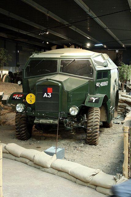 Morris Quad Field Artillery Tractor