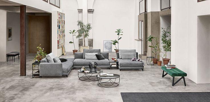 Die besten 25+ Rolf benz nuvola Ideen auf Pinterest Benz sofa - wohnzimmer ideen schwarzes sofa