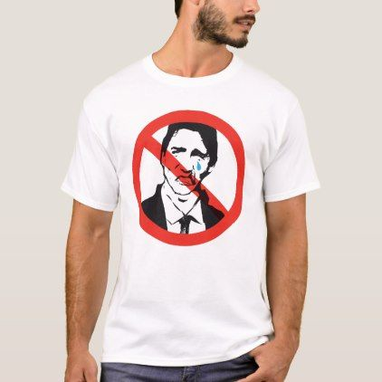 Stop Trudeau OUT Sign Canada anti-Liberal Funny T-Shirt - create your own personalize