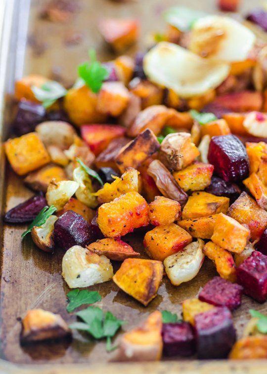 How to Roast any Vegetable I especially enjoy roasting Cauliflower with Olive Oil, Sea Salt, minced Garlic, and freshly chopped Rosemary!