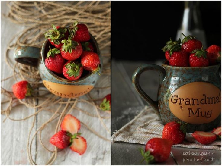 Strawberry - belajar food photography