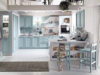 Anice kitchen with Breakfast bar Talcato stone, Callesella